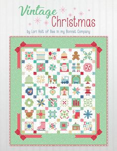 PRE-ORDER Vintage Christmas Book by Lori Holt
