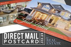 Real Estate Postcard with Options by END on Creative Market