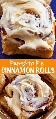 Pumpkin Pie Cinnamon Roll Recipe
