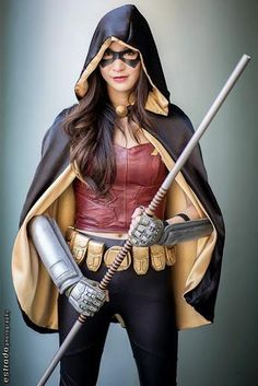 Female Robin by Emily Ong Robin Cosplay, Dc Cosplay, Cosplay Outfits, Best Cosplay, Cosplay Girls, Cosplay Costumes, Batgirl Cosplay, Female Cosplay, Superhero Cosplay