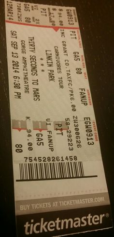 #LinkinPark #ThirtySecondsToMars #AFI #Gorge #Concert September 13, 2014