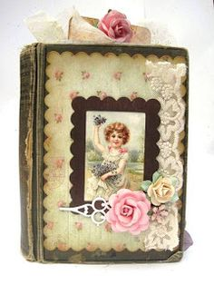 Altered book Shabby Beautiful Scrapbooking