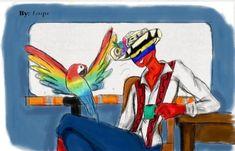 #Colombiacountryhumans # countryhumams #coimtryhumans La. coco Mundo Comic, Country Art, Disney Characters, Fictional Characters, Comics, Memes, Anime, Space Planets, Figure Poses