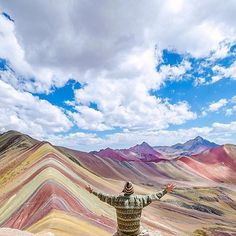 Rainbow Mountains of Vinicunca - Peru