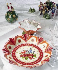 Villeroy & Boch Toy's Fantasy Christmas Plates