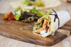 Sallys Blog - Mediterrane Wraps mit Hähnchen und gegrilltem Gemüse