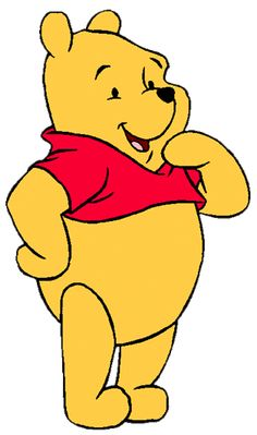 Winnie the Pooh Clip Art Images Cute Winnie The Pooh, Winne The Pooh, Christopher Robin, Cartoon Tv, Cartoon Characters, Eeyore, Tigger, Disney Clipart, Dibujos Cute