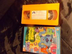 Blues Clue, Blue's Clues, Blue's Clue CD /Vhs Tape, ( Blue's Clue ABC and 123 learning ) 1 Blue's Clue CD and 1 Vhs Tape Two different Blue's Clue learning tapes for abc and 123 for kid learning. Kids learning abc and 123 made fun. Toddler Videos, Kids Videos, Blues Clues, Nick Jr, Vhs Tapes, Mom And Dad, Kids Learning, Etsy Store, Toddlers