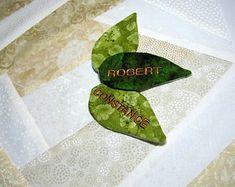 Personalización de hojas de árbol edredón