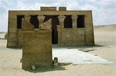 HERMOPOLIS / TOMB OF PETOSIRIS / PHOTOTuna al-Jabal – Hermopolis (Egypt), tomb chapel of the high priest Petosiris in the necropolis of Hermopolis (early Ptolemaic time, 2nd half of the 4th century BC).
