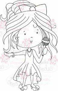 Singing Sally digital stamp download