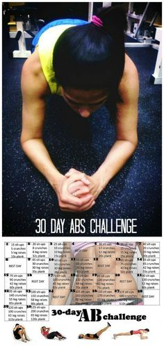 Tanvii.com: 30 Day Ab Challenge