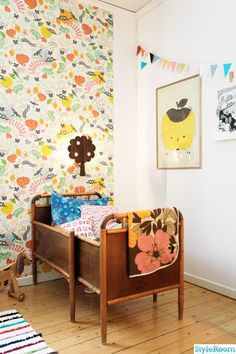 grow bed, children's wallpaper, wallpaper, fund wallpaper, lamp, pattern, children posters, children's rooms