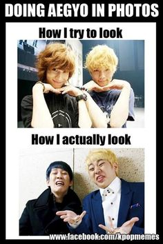 LOL true #aegyo