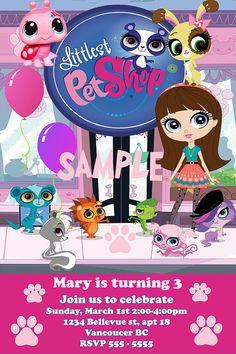 Littlest Pet Shop Birthday Party Ideas Pet shop Birthday party