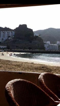 Vistas playa Puerto Rico, Gran  Canaria 10-9-17, by Ale