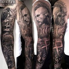 Viking sleeve by Bastart!