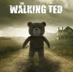 Funny pictures about The Walking Ted. Oh, and cool pics about The Walking Ted. Also, The Walking Ted photos. The Walking Dead, Walking Dead Funny, Picture Comments, Bizarre, Film Music Books, Zombie Apocalypse, Zombies, Best Funny Pictures, Funny Pics