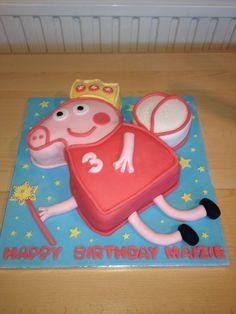 Princess Peppa cake