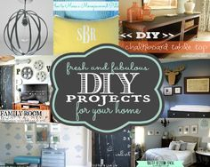 Fresh and Fabulous DIY/Home Decor Ideas