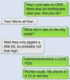 Lmao!  What a boob. | 35 Of The Most Concerning Autocorrect Fails Of All Time