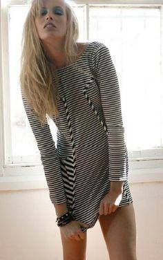 Long Sleeve Low Back Dress