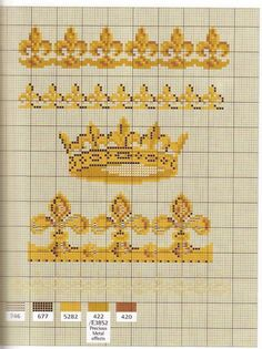 Gallery.ru / Фото #13 - Happy Days - Mongia fleur de lis cross stitch chart