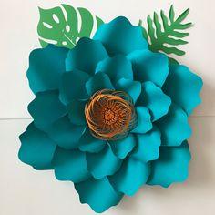 Giant Paper Flower Templates | DIY Kit | Large Paper Flower Stencils