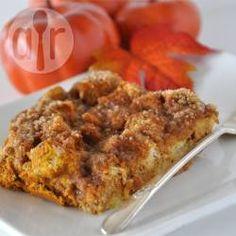 Pompoen broodpudding @ allrecipes.nl