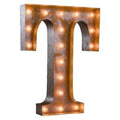 Letter Marquee Wall Light | PBteen