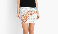 """Good Hare Day"" mini skirt on Redbubble"