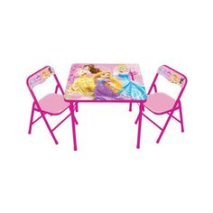 Disney Princess Folding Chair Relax on this metal folding Disney ...