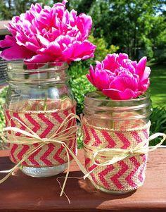 Diy Crafts Ideas : DIY Mason Jar Wrap