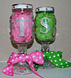 monogrammed decorative mason jar by itstaylormade on etsy - Decorative Jars