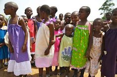 Sew delightful. Sewing dresses for girls in need.