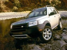 Land Rover Freelander - loved this one - written off by a drunk driver - on my birthday!