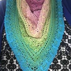 I made this with a hook. I ran a little short on yardage and had to improvise the border. I am very happy with how this turned out. I love this yarn! Lost In Time Shawl, Crochet Shawl Free, I Love This Yarn, Photo Galleries, Gallery, Color, Colour, Colors