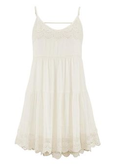 tiered babydoll dress with crochet (original price, $39) available at #Maurices