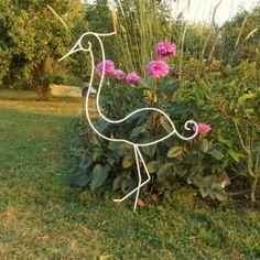 animaux de décoration en métal. Volute
