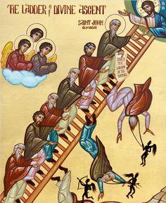 The Ladder of Divine Ascent; John Climacus by Nicholas Papas