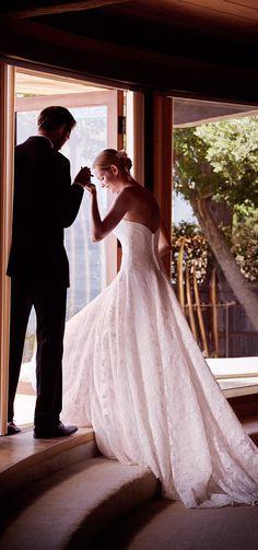 Allover Beaded Ball Gown Wedding Dress | David's Bridal Spring 2017 @davidsbridal #davidsbridal #wedding #bridal #ad #lace #ballgown #weddingdress