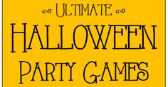 Check out our Easter Games here . Halloween is my favorite time of year. I just can't get enough of the decorations and the gam. Halloween Class Party, Halloween Carnival, Christmas Party Games, Halloween Items, Halloween Birthday, Halloween Activities, Holidays Halloween, Halloween Kids, Carnival Ideas