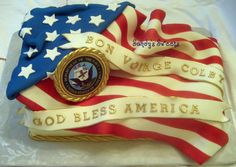 military cakes | ome super heroes wear capes around their necks others wear dog tags