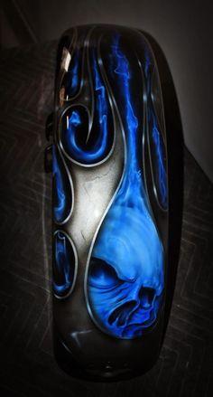 Harley Davidson custom paint shop, Airbrushing.Motorcycle custom paint