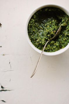 Kale + pumpkin seed pesto {vegan} | My Darling Lemon Thyme