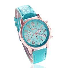 $2.50 (Buy here: https://alitems.com/g/1e8d114494ebda23ff8b16525dc3e8/?i=5&ulp=https%3A%2F%2Fwww.aliexpress.com%2Fitem%2F2015-New-Fashion-Women-Dress-Watch-Bracelet-Geneva-Roman-Numerals-Genuine-Leather-Analog-Quartz-Wristwatch-Casual%2F32302309724.html ) New Fashion Women Dress Watch Women Bracelet watches Geneva Genuine Leather Analog Quartz Wristwatch Casual Watch Relogio for just $2.50
