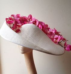 1000+ images about Sculptured Sinamay Hats & Flowers on Pinterest ...