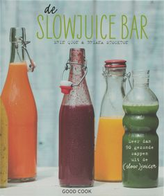 Kookboek; slowjuice Juice Drinks, Juice Smoothie, Cocktail Drinks, Healthy Drinks, Healthy Cooking, Smoothies, Healthy Recipes, Juice Recipes, Cocktails