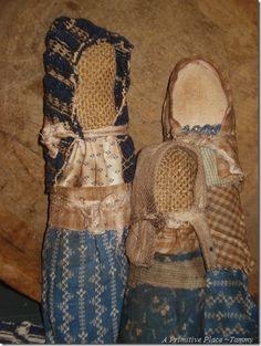 Church Dolls by A Primitive Place
