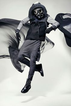 Byungmun Seo is a visually provocative menswear ready-to-wear line. It displays an unconventional construction of garment that often plays with creative pattern cutting and pushes the boundaries  of traditional fashion and silhouette.